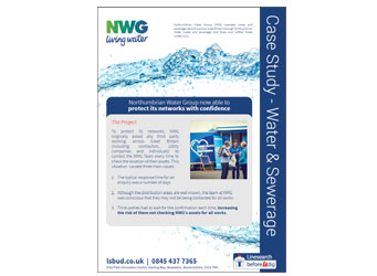 Northumbrian Water Group Case Study